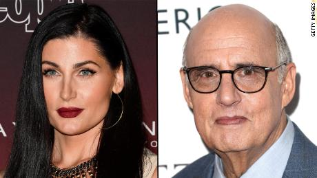 Trace Lysette, left, and Jeffery Tambor, right.
