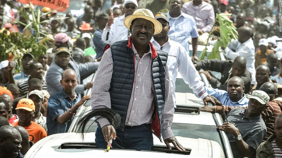 5 killed as Kenyan police, Odinga supporters clash in Nairobi