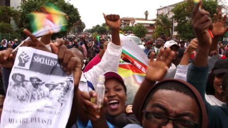 Zimbabwe's historic day