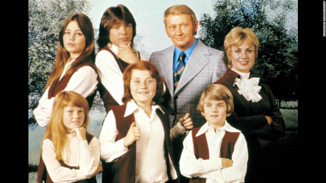 "Pictured here with his TV family, Cassidy would eventually tour the world singing hit songs such as ""I Think I Love You"" and filling concert halls with screaming teenage girls."