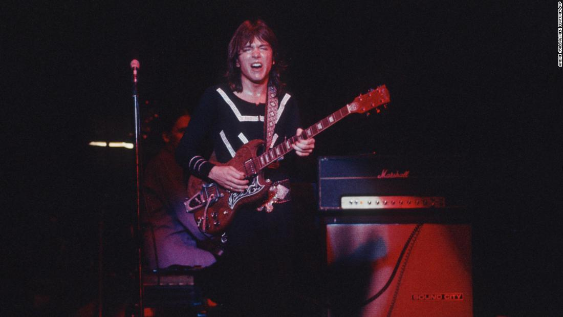 Cassidy in concert in London in an undated photo.