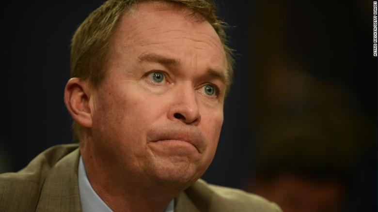 Mulvaney: 'Cool' to be in charge of shutdown