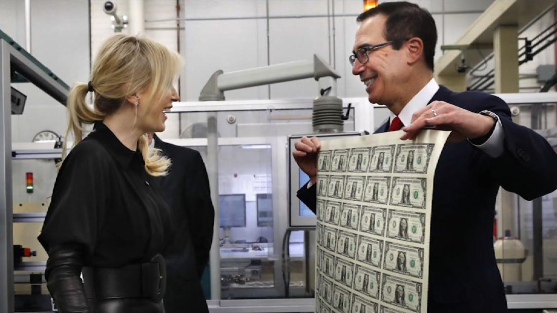 Mnuchin Responds To Viral Money Photos Cnn Video