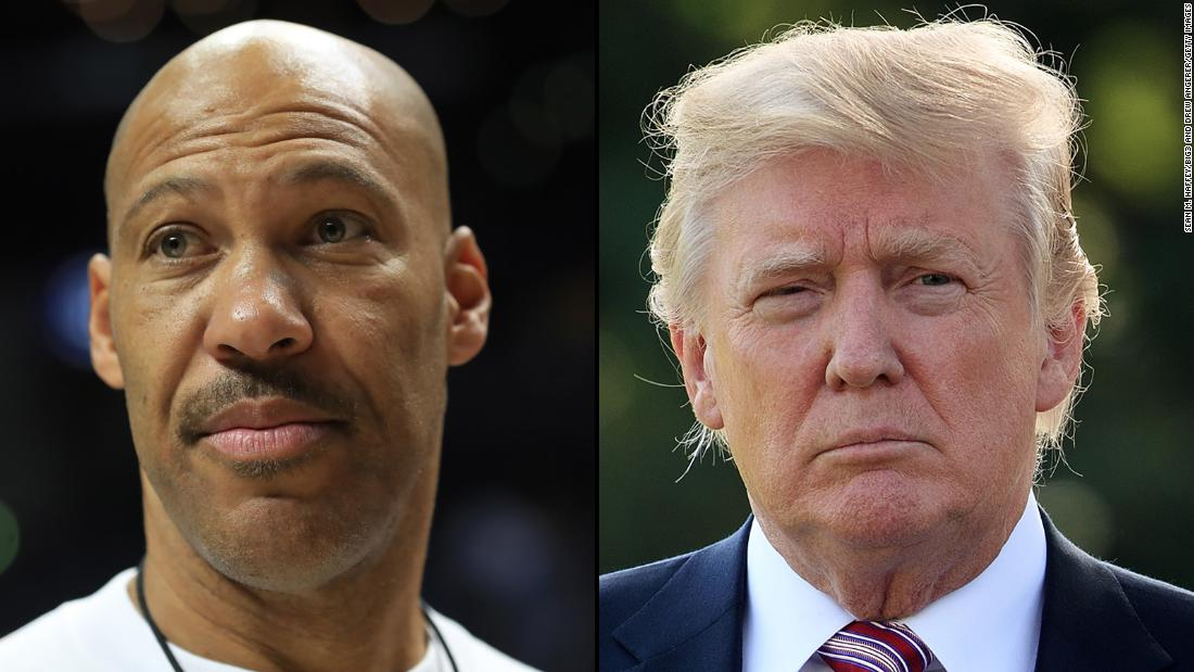 Donald Trump's LaVar Ball tweets cross a line — even for him