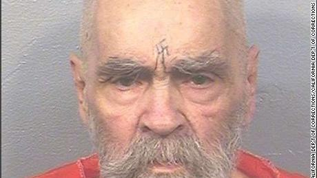 The California Department of Corrections updated Charles Manson's mugshot in August, 2017, as part of the department's security protocol. Mugshots are updated every few years for security reasons, California Department of Corrections Press Secretary Vicky Waters tells CNN.
