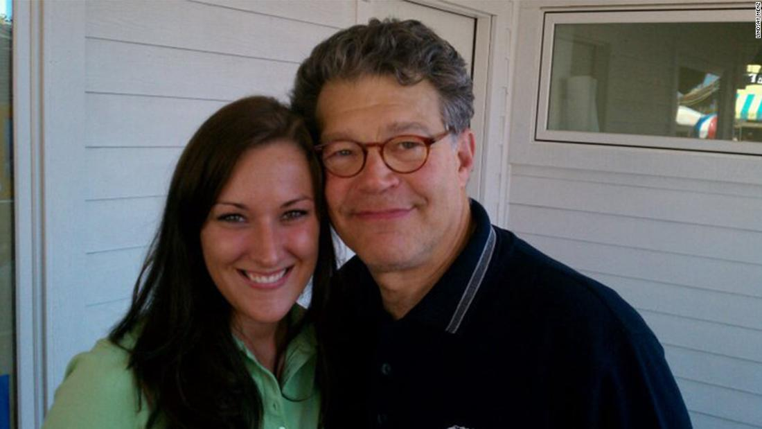 cnn.com - MJ Lee - Woman says Franken inappropriately touched her in 2010