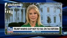 Conway on Moore: We need him for tax reform