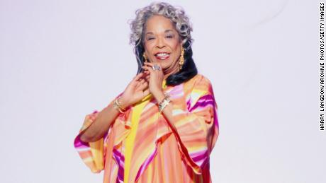 Actress and singer Della Reese