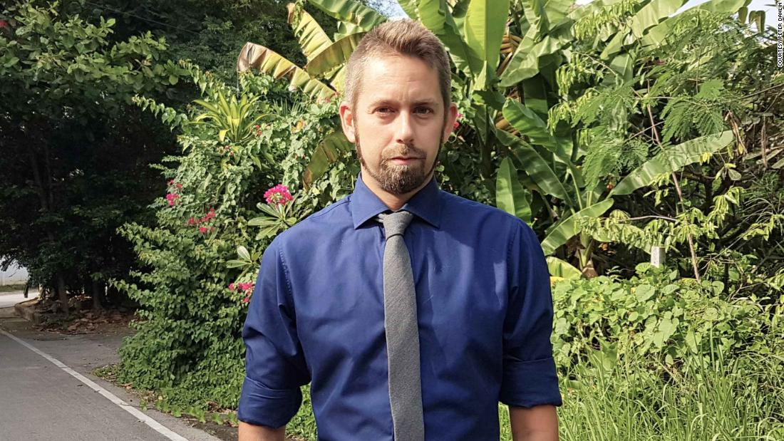 Peter Dahlin, a Swedish national, was detained in China on January 4, 2016 and held for three weeks.