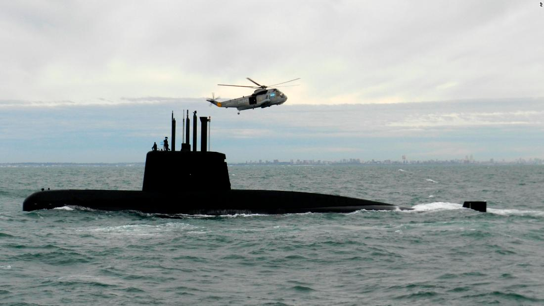 How searchers are trying to find Argentina's missing submarine