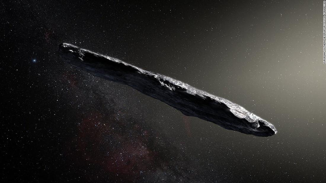 Meet the first interstellar visitor to our solar system