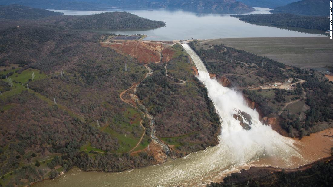 After years of being in severe drought, California saw an intense amount of rainfall that contributed to flooding, landslides, and erosion equaling $1.5 billion in damages. Most notable was the damages to the Oroville Dam spillway which lead to a multi-day evacuation of 188,000 residents.