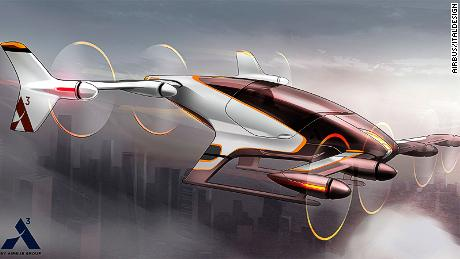 Airbus Vahana electric aircraft