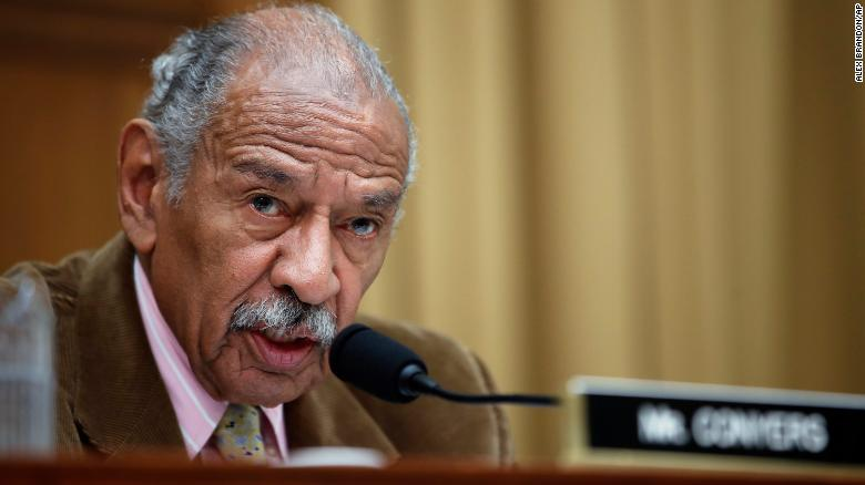 Pelosi: 'John Conyers is an icon in our country'