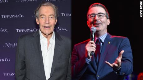 Oliver joked about Charlie Rose's 'sex talk'