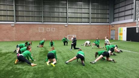 Some members of Celtic Women's football team have been using FitrWoman.