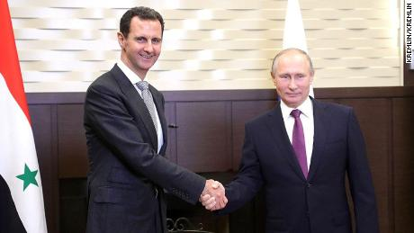 Report: Putin, Assad say terror fight near end