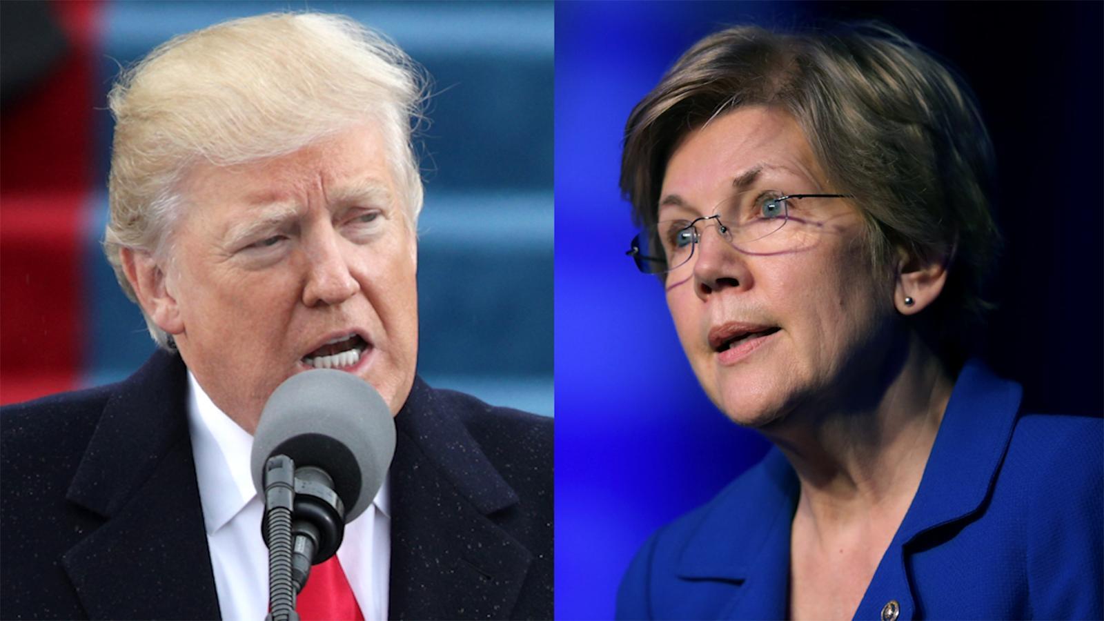 Warren: Trumpu0027s U0027racial Sluru0027 Unfortunate   CNN Video Part 91