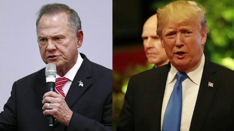 'We need Republican Roy Moore to win in Alabama'