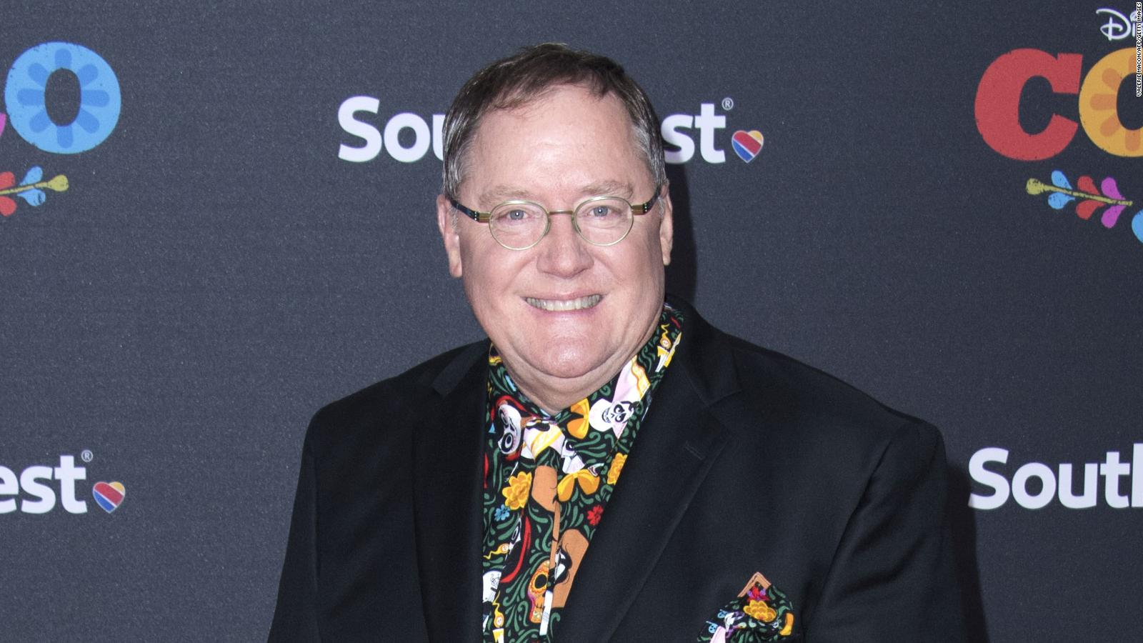 Executive producer John Lasseter attends the Disney Pixar's COCO premiere on November 8, 2017, in Hollywood, California. / AFP PHOTO / VALERIE MACON / ALTERNATIVE CROP         (Photo credit should read VALERIE MACON/AFP/Getty Images)