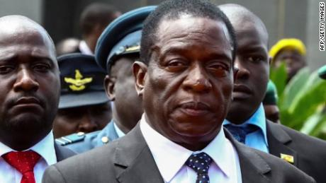 Who is Emmerson Mnangagwa?