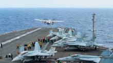 US Navy aircraft crash leaves 3 missing at sea