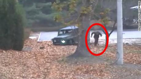 Dramatic video shows North Korean soldier's escape across border