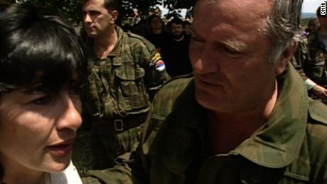 Amanpour meets the 'Butcher of Bosnia'