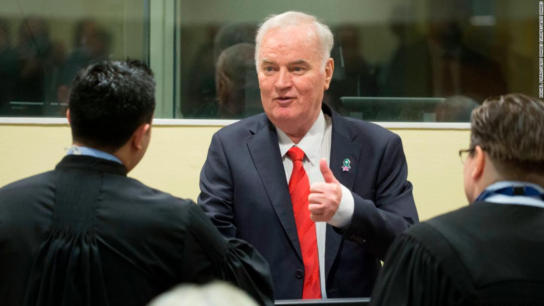 Ratko Mladic guilty of genocide, sentenced to life in prison