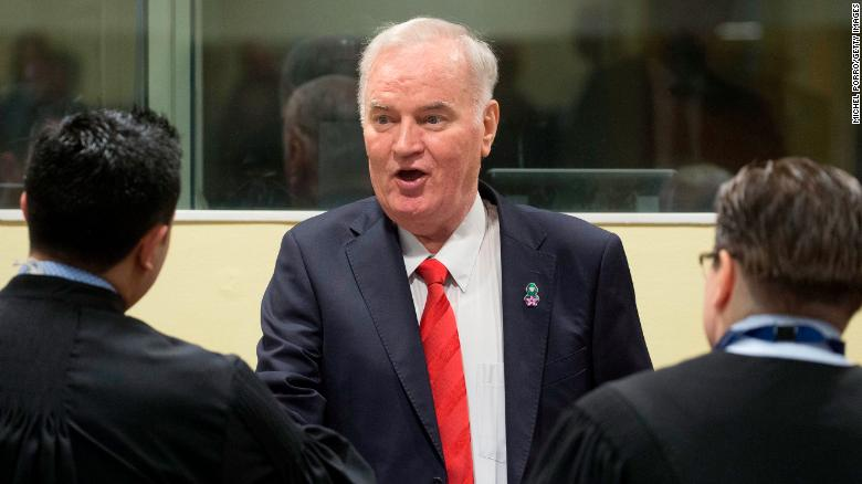 Mladic convicted of war crimes
