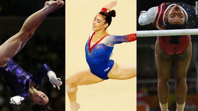 'Fierce Five' Olympic gymnasts allege abuse