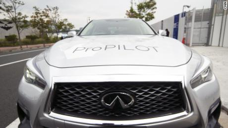 Japan's latest driverless car hits the Tokyo highway