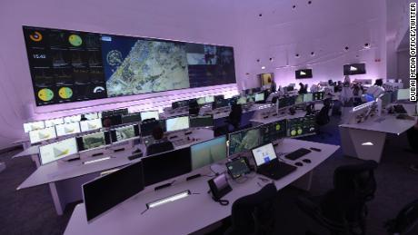 Dubai Road and Transport Authority's Enterprise Command and Control Center.