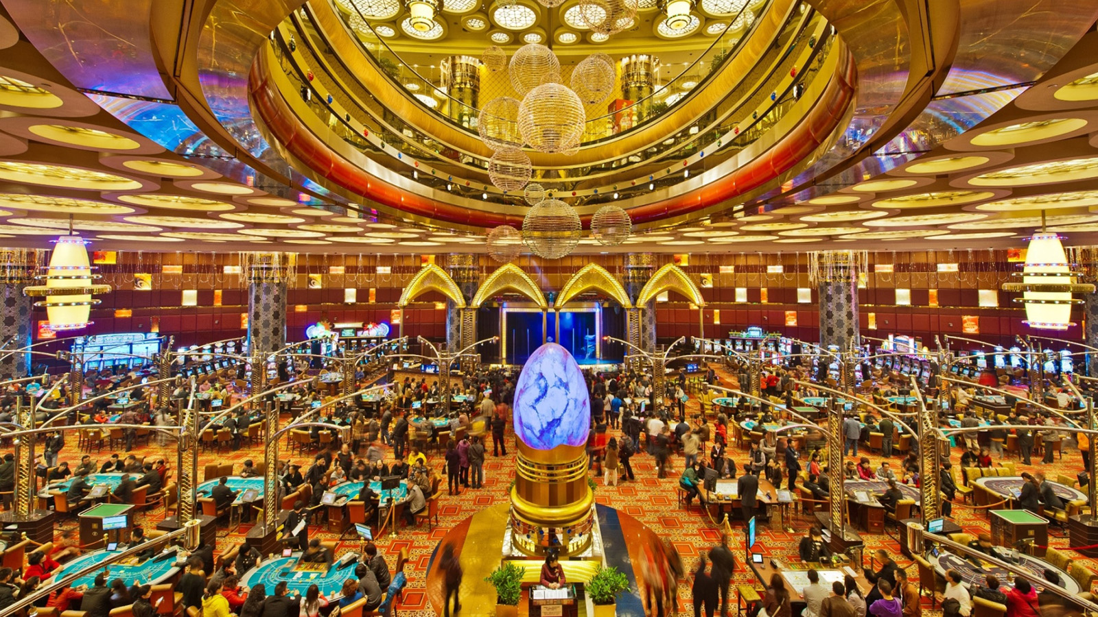 Where are the best slot machines in a casino