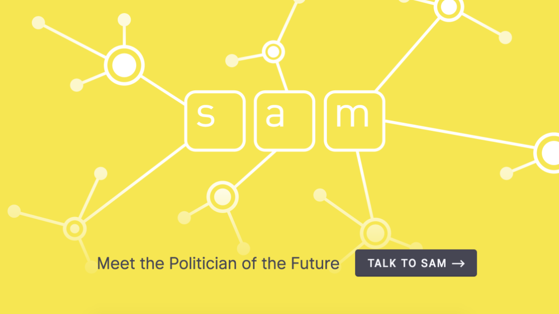 This virtual politician wants to run for office