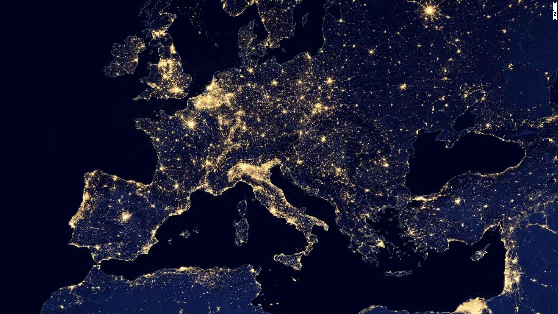 Loss Of The Night Light Pollution Rising Rapidly On A Global - Us light pollution map