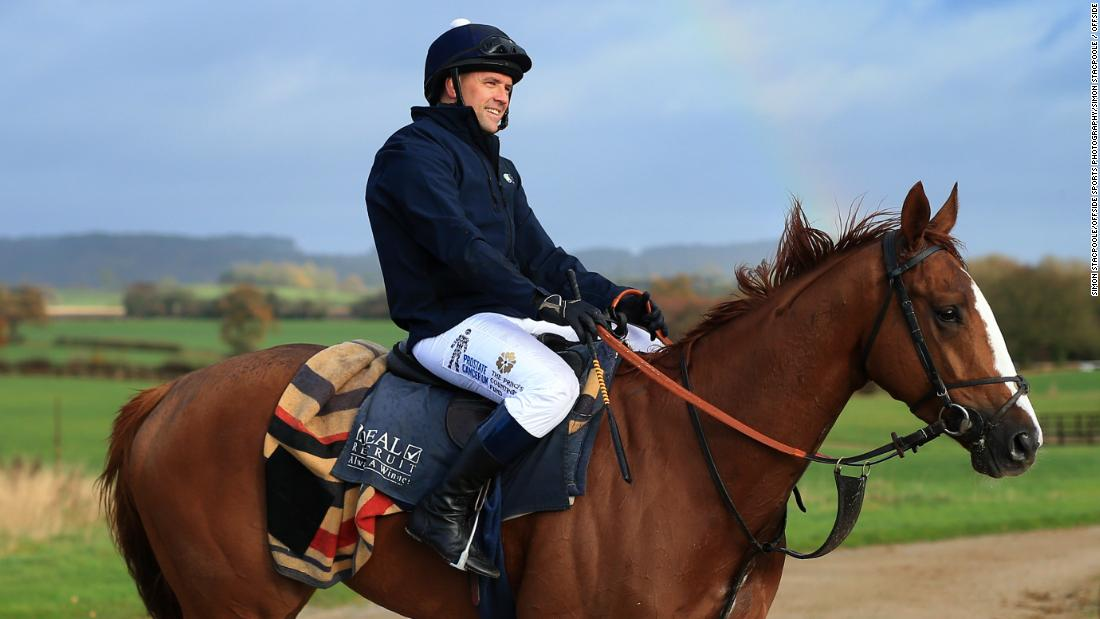 Owen will line up against 10 other riders in the Prince's Countryside Fund Charity race at Ascot.