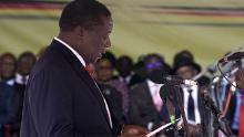 Zimbabwe's Mnangagwa sworn in as President
