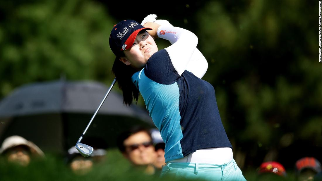When she was just 14 years old, Yin ranked second longest for driving distance at the 2013 Kraft Nabisco Championship -- now known as the ANA Inspiration.