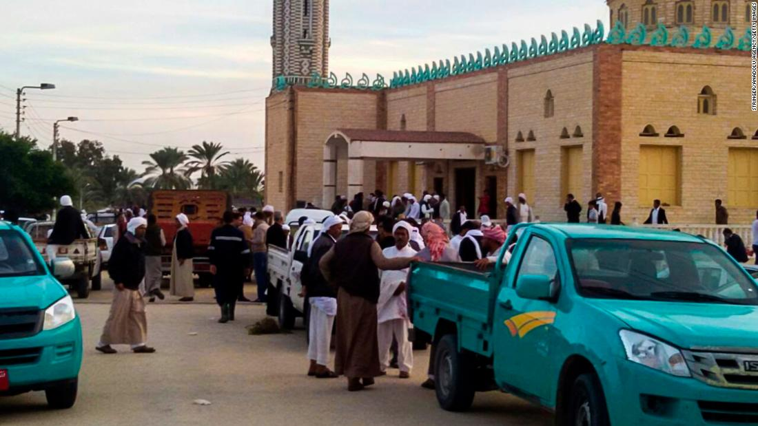 Egypt mosque attack death toll climbs above 300