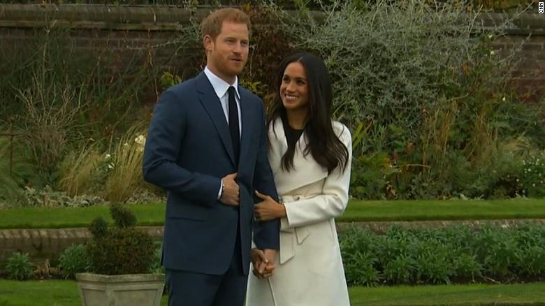 Prince Harry and Meghan Markle show off ring