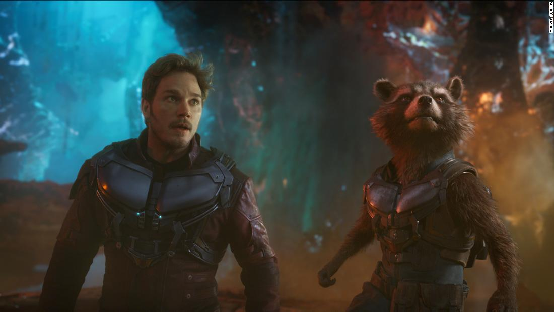 "<strong>""Marvel's Guardians of the Galaxy Vol. 2""</strong>: Star-Lord/Peter Quill (played by Chris Pratt) and Rocket (voiced by Bradley Cooper) get up to even more shenanigans in the sequel to the mega-successful 2014 film. <strong>(Netflix)</strong>"