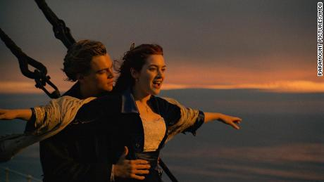 Leonardo DiCaprio and Kate Winslet in 'Titanic' (1997)