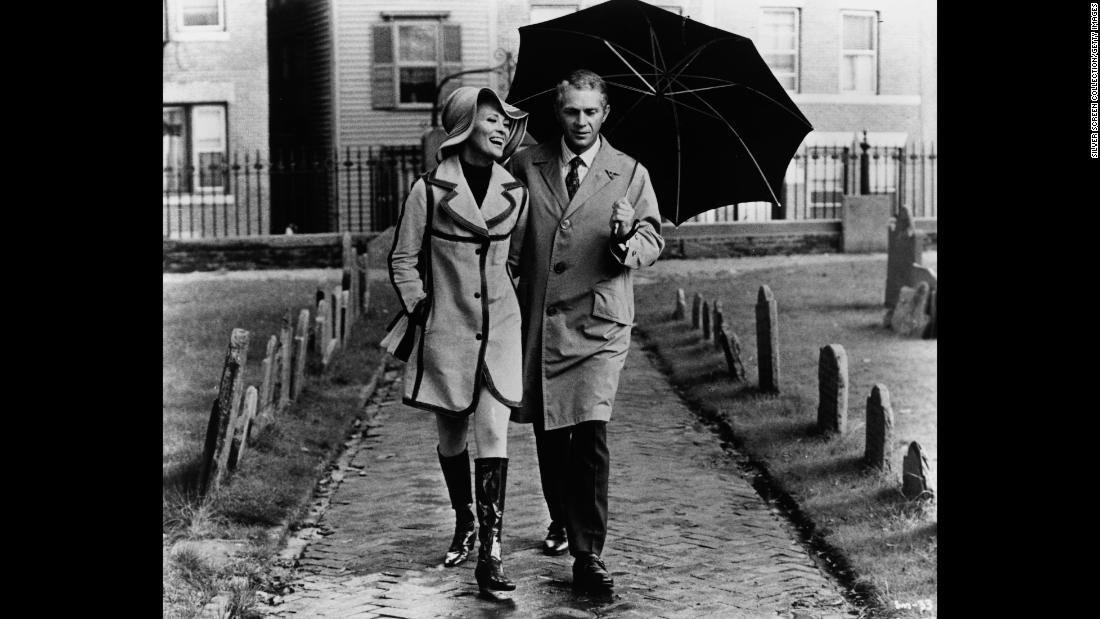 "<strong>""The Thomas Crown Affair""</strong> : Faye Dunaway and Steve McQueen star in this 1968 film about a bank executive who thinks he's pulled off the perfect heist -- that is until he meets his match in the form of a sexy insurance investigator. <strong>(Hulu) </strong>"