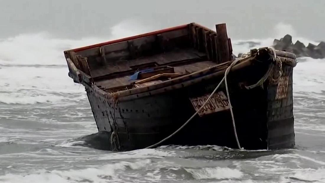 Ghost ships wash up in Japan with skeletons on board