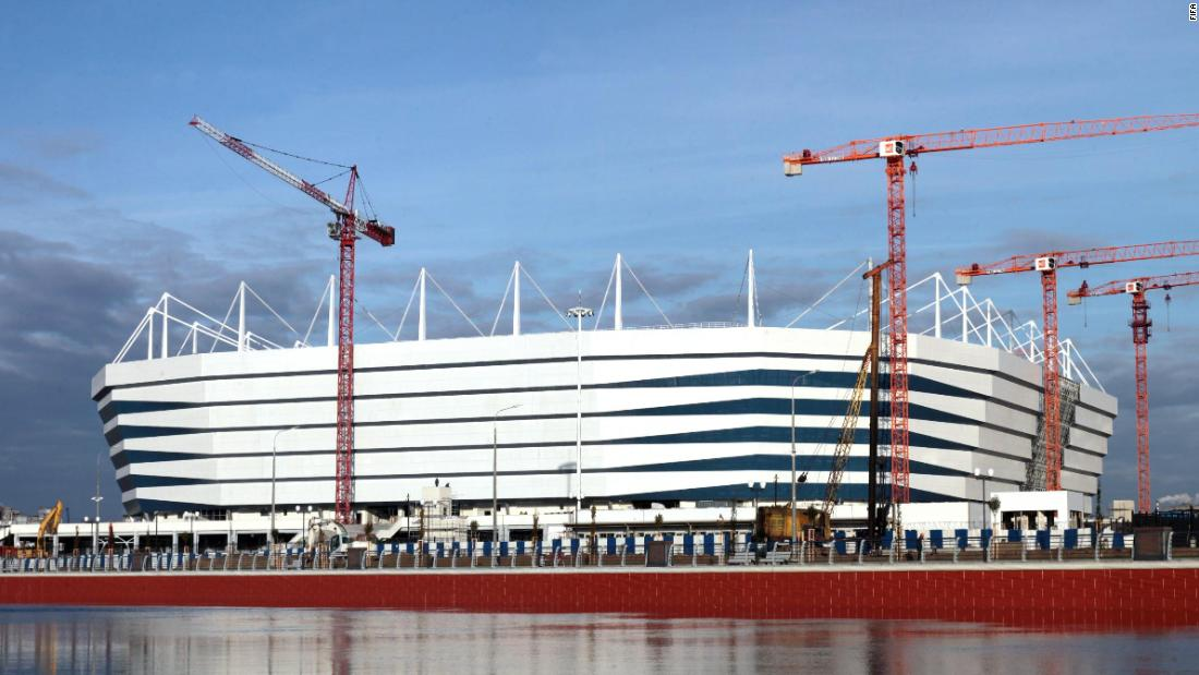 <strong>Kaliningrad Stadium World Cup schedule:</strong> Group stage<strong><br />Legacy</strong>: The 35,000-seater stadium will have its capacity reduced by 10,000 and be home to second-tier side FC Baltika Kaliningrad. A new residential development will be built around it featuring parks, quays and embankments alongside the Pregola river.