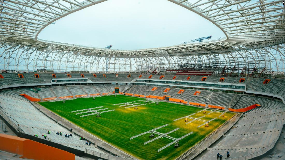 <strong>Mordovia Arena World Cup schedule:</strong> Group stage<strong><br />Legacy: </strong>With a population of just 300,000, Saransk is the smallest of the 2018 World Cup host cities. After the tournament, some of the stadium's temporary structures will be demolished, reducing the capacity to 25,000. It will become the home of third-tier side FC Mordovia.