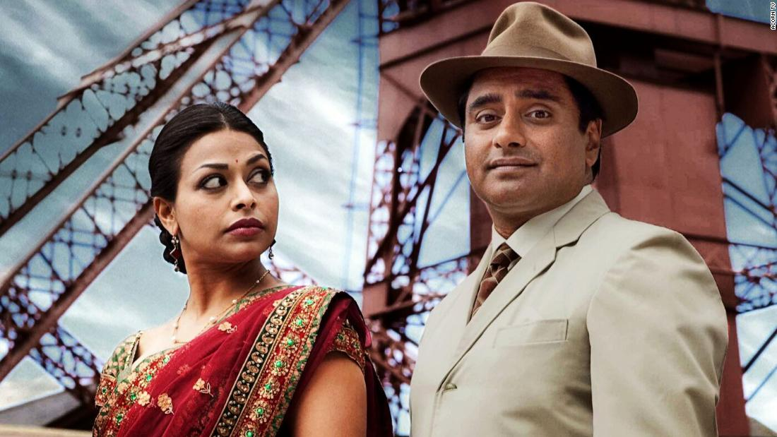 "<strong>""The Indian Doctor""</strong>: Ayesha Dharker and Sanjeev Bhaskar star in this drama series about a doctor who moves from India to the Welsh mining village of Trefelin when their doctor dies.<strong> </strong>(Acorn TV)"