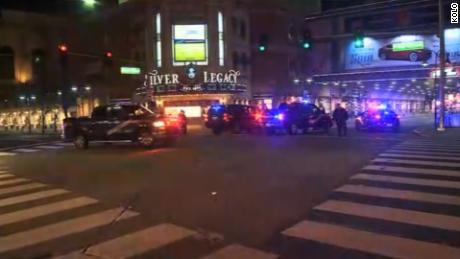 Gunman detained after opening fire in downtown Reno