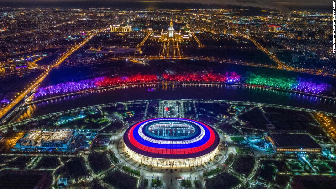 <strong>Luzhniki Stadium World Cup schedule: </strong>Group stage, last 16, semifinal, final<strong><br />Legacy: </strong>The 81,006-seater will retain its status as the country's leading football stadium, hosting competitive international matches and friendlies.